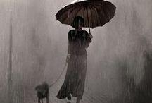 Un petit coin de parapluie contre un coin de paradis ... Umbrellas