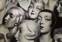 Let's FACE it !  ... têtes ... Mannequin heads