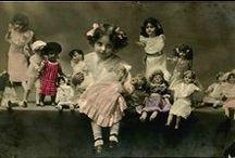 Les enfants vintage et leurs jouets préférés ... Kids & toys