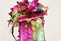 Because I FELT like it ! / Felting, fabric design, wool, felt / by Silva Fero