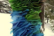 Shibori Felt / Shibori,felting forms, fibre sculpting, and woolen dreams and other arty inceptions.