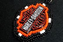 DIY crafts of harley Memorabilia / Crafty things that are made from harley items