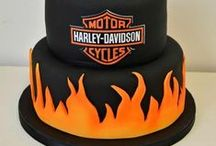 Harley Weddings/Birthdays / Harley Davidson themed weddings and birthday parties!! So cool!!