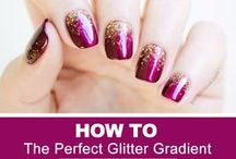Nails 101 / Nail art tips, DIY beauty products and remedies, How-to's