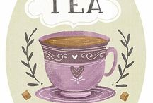 Tea / Leuke weetjes, plaatjes en spreuken over thee...