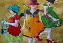 PINTURA INFANTIL - Kids paintings