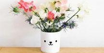 Buddy & Bear in Bloom   Vases   Flowers / buddyandbearinbloom - the perfect combination: Buddy and Bear plastic BPA free tumbler & the prettiest flowers. Use your Buddy and Bear tumbler as a cute vase