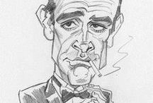 Cartoons and caricatures / Cartoons and caricatures