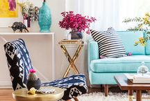Home Decor / Home decor spaces that are light and inspiring.