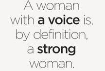 """Empowering Quotes / """"Never underestimate the power of a woman."""" Nellie McClung"""