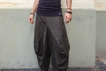 Yoga / Samurai pants / Samurai pants, also called Harem or Boho pants are loose fitting, free flowing and are great for both casual and active wear. Suitable for both men and women.  The unique design of Samurai pants allows for complete freedom of movement making them ideal for dance wear, yoga, meditation, training and massage.