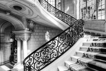Stairs+Foyers+Entry / by Caroline Harrietha