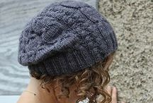 Hat Head / A collection of beautiful hat patterns to knit.