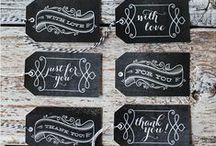 Lettering+Printables / by Michelle Balch