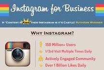 Instagram Marketing / Tips on marketing with Instagram, including contests, best practices, infographics, and companies using Instagram successfully. / by Laura Briedis