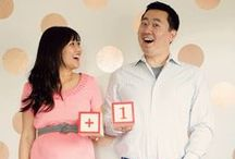 Pregnancy Announcements / Are you ready to finally share the exciting news with your friends and family? Here are some fun and clever ways to announce the anticipated addition.