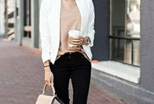 Women's Fashion / Outfit styles for the workplace. #girlboss