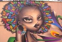 Street Art / The Street Art is an artistic contemporary movement which was developed around the sixties on publics places. It is an art which allows people to open their mind and transmit some messages or opinions through various technics like graffitis, mosaics or stickers.