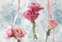 Flowers in jars... Ƹ̵̡Ӝ̵̨̄Ʒღೋ