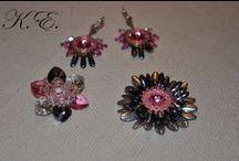 Beading, beadwork by KEszter / http://kreativeszter.blogspot.hu/