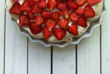 Meringues / Meringue cake with....