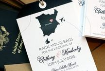 Wedding invites / Invitations for weddings