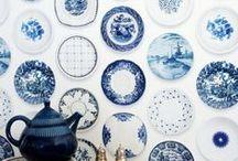 Ceramic / Blue -White