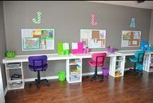 study and playroom design