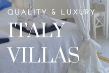 Luxury Villa Rentals || Italy / We only chose the best villas for your vacation. Here is a stunning collection of villas to chose from or you just contact our experts, let us know what you want! www.casalio.com