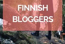 Finnish Bloggers / Get to know Finnish bloggers and get inspired by their stories, lifestyle, and outfits!