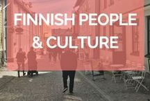 Finnish People & Culture / Finnish culture is different and exciting. Finnish people are quirky. These pins show you what's it like in Finland, highlighting Finnish traditions, Finnish lifestyle and Finnish people.