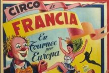 Carteles de circo / Carteles de circo, que forman una pequeña colección, de la primera mitad del siglo XX, muy interesante y que se pueden consultar en BIVALDI