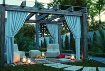 outdoor decor / by Shelby Shelby
