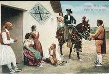 Modas, usos y costumbres / Imágenes de costumbres, tradiciones y usos, que dan lugar a de una identidad cultural propia