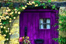Purple, Pink & Violet