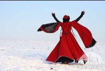 mood board - russian winter