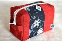Täschchen / Täschchen aus japanischen Stoffen von NORIKO handmade