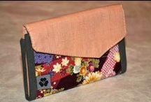 Portemonnaies / Portemonnaies aus japanischen Stoffen von NORIKO handmade