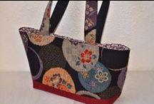 Handtaschen / Handtaschen aus japanischen Stoffen von NORIKO handmade