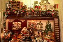 Dolls house Christmas / Miniature Christmas Items