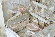Côté dentelles chiffons et tissus / Tout sur les dentelles, chiffons et tissus