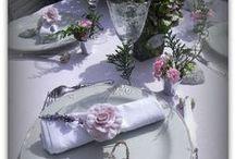 Côté art de la table et sa déco / Comment faire de jolies tables