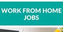 Work From Home Jobs / Real work from home jobs in a variety of industries.  Whether you want to be a benefits-eligible employee, or you just want a work at home job to supplement your income, you can find it here.