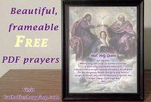 Catholic Prayers / Free downloadable Pdf prayers!