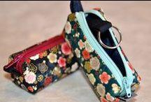Schlüsseletuis / Schlüsseletuis KAGI aus japanischen Stoffen - genäht von NORIKO handmade
