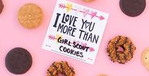 We <3 Girl Scout (Cookies)! / Valentine's Day fun for everyone!