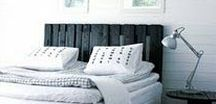Bedroom / Samples  ,rustic bed building , design,  made of pallet or wood,driftwood