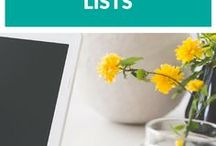 Work From Home Lists / Who doesn't love a great list? This board is a collection of lists from around the web to help you with home-based jobs, businesses, and other options.