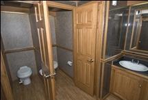 Restroom Trailers / http://blueribbonrestrooms.com/restroom-trailers/