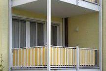 BALKON / Hier stellen wir BIlder unserer Kunden ein, die den passenden Sicht- oder Sonnenschutz für ihren Balkon bei uns im Onlineshop gefunden haben.